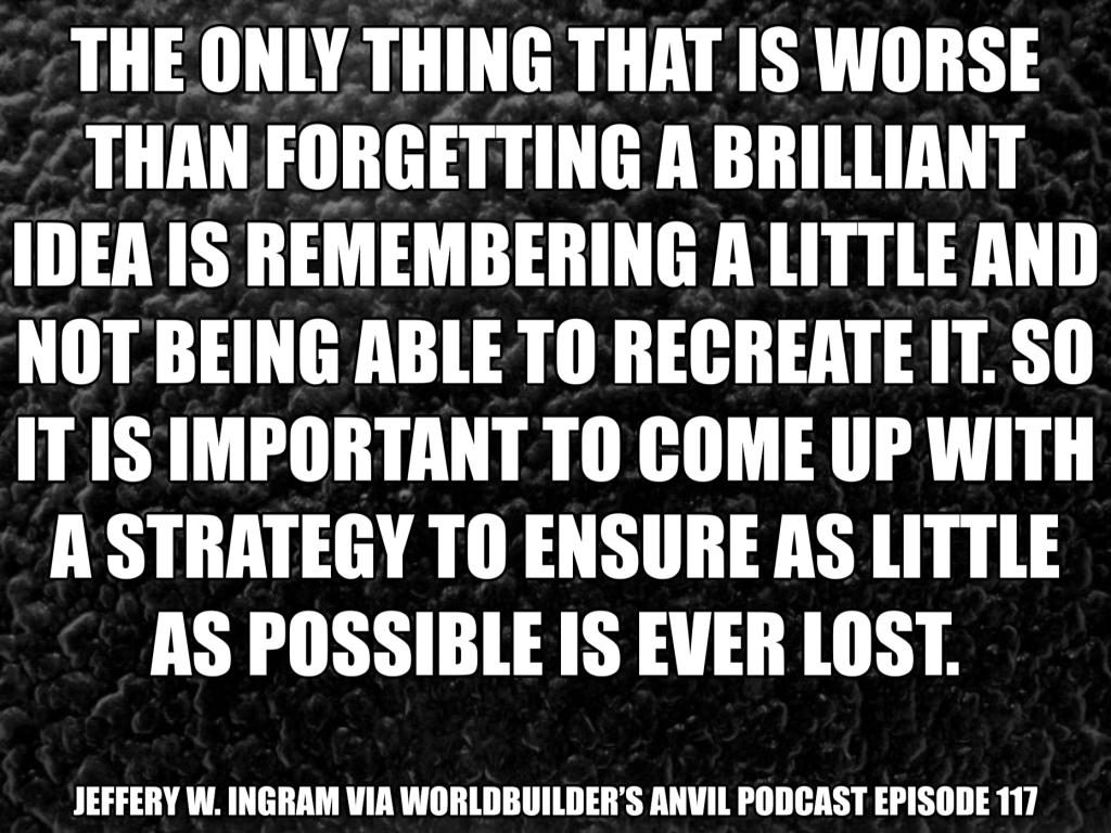 Jeffery W. Ingram via Worldbuilder's Anvil Podcast Episode 117
