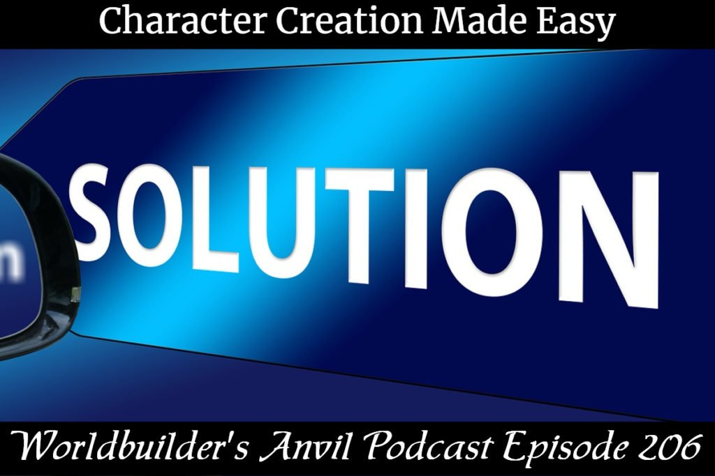 206 Character Creation Made Easy