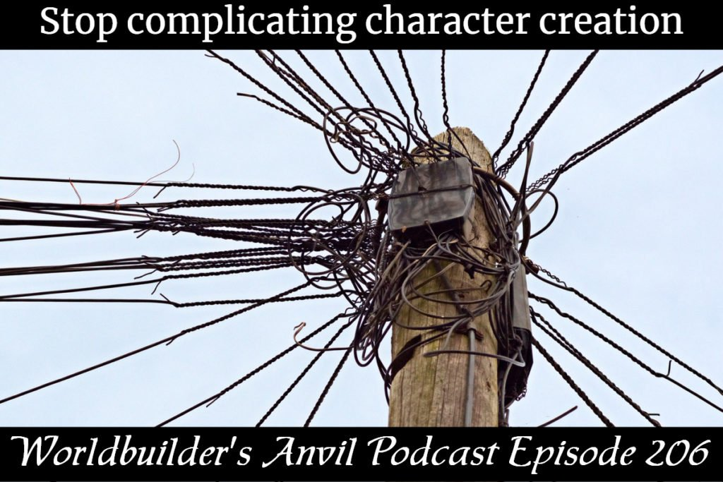 206 Stop complicating character creation
