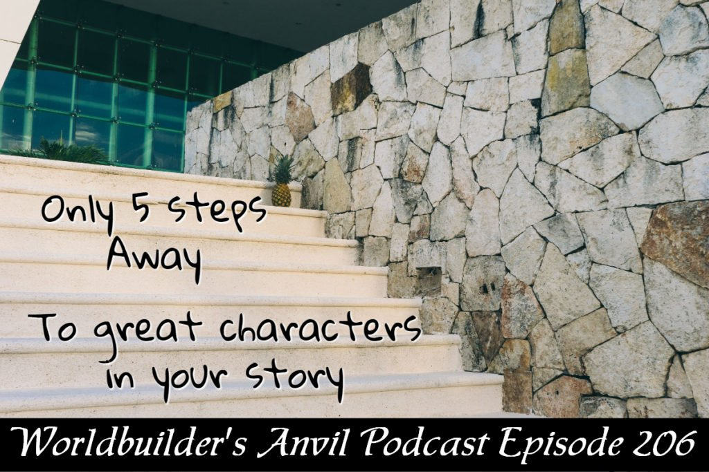 206 Only 5 steps to great characters